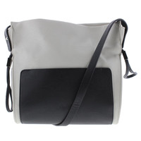 Kenneth Cole Reaction Womens The Stringer Faux Leather Crossbody Handbag