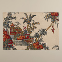 Global Toile Placemats, Set of 4 - World Market