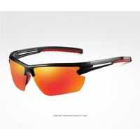 Fashion! 100% UV Men's Sunglasses Riding outdoor Motion Polarized Sunglasses