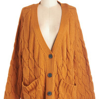 ModCloth Vintage Inspired Mid-length Long Sleeve Layer For Keeps Cardigan
