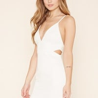 Cutout Scuba Knit Dress | Forever 21 - 2000171433