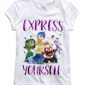 INSIDE OUT GRAPHIC TEE | GIRLS GRAPHIC TEES CLOTHES | SHOP JUSTICE