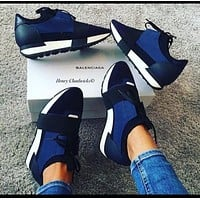 Balenciaga Women Men Fashion Breathable Sneakers Sport Shoes