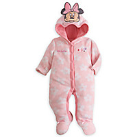 Minnie Mouse Plush Romper for Baby - Personalizable