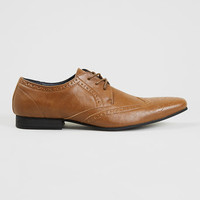 Cole Smart Tan Brogues - Smart Shoes - Shoes and Accessories