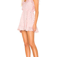 Lovers + Friends Austin Mini Dress in Powder Pink | REVOLVE