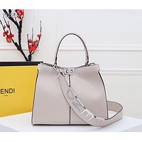 Fendi Women Leather Shoulder Bags Satchel Tote Bag Handbag Shopping Leather Tote CrossbodyFendi Women Leather Shoulder Bags Satchel Tote Bag Handbag Shopping Leather Tote Crossbody