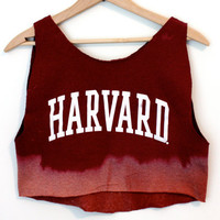 Harvard crop top
