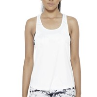 Crater in Arms Tank Top- White