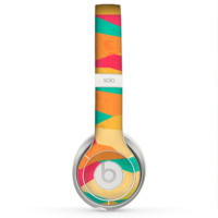 The Vibrant Bright Colored Connect Pattern Skin for the Beats by Dre Solo 2 Headphones