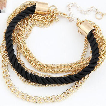 Fashionable Rope Chain Decoration Bracelet For Girl