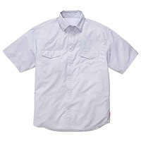 WLS Short Sleeve Fishing Shirt in White by Southern Proper
