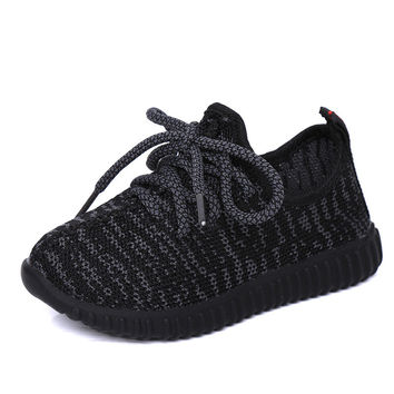 Children Shoes Girls Shoes 2016 Autumn Breathable Sport Soft Bottom Baby Boys Shoes Kids Running Coconut Fashion Girls Sneakers