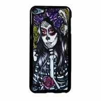 Floral Sugar Skull Day Of The Dead iPod Touch 5th Generation Case