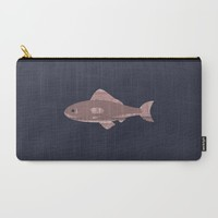 Rose Quartz Fish in the Ocean Carry-All Pouch by Yaansoon | Society6