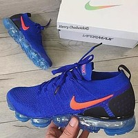 Nike Air VaporMax Flyknit 2.0 Sneakers Blue Shoes-1
