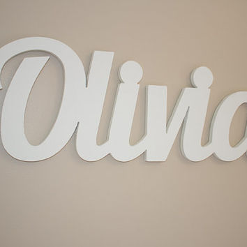 Baby Name Plaques For Nursery On