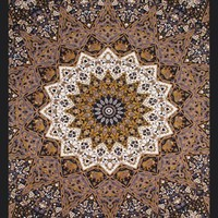 Classic Indian Tapestry Dark Star college dorm room essential tapestry dorm decor for wall hanging twin xl bedspreads window covers and more decor