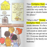 Fire Safety educational Fire Station personalized story book fire truck firefighter chief