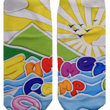 Summer Camp Ankle Socks