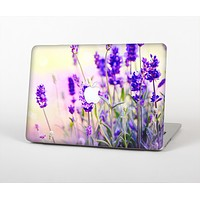 The Lavender Flower Bed Skin for the Apple MacBook Air 13""