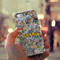 All Character Pokemon Case for Iphone 4, 4s, Iphone 5, 5s, Iphone 5c, Samsung Galaxy S3, S4, S5, Samsung Galaxy Note 2, Note 3.