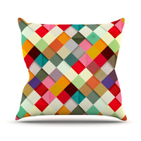 """Danny Ivan """"Pass This On"""" Throw Pillow, 20"""" x 20"""" - Outlet Item"""