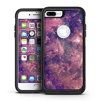 Vibrant Sparkly Pink Nebula - iPhone 7 or 7 Plus Commuter Case Skin Kit