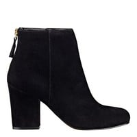 Nine West: Genevieve Leather or Suede Booties