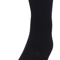 Flat Knit with Comfortoe Technology Tights (Black)