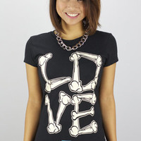 Entree Entree LS Dead Love Women Black Tee : Karmaloop.com - Global Concrete Culture