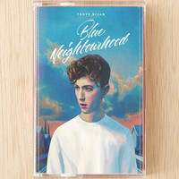 Troye Sivan - Blue Neighborhood Cassette Tape - Urban Outfitters
