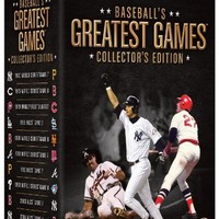 Baseball's Greatest Games: Collector's Edition [DVD]