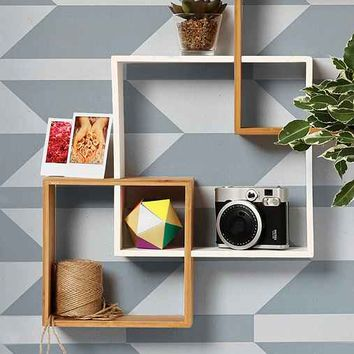 Chasing Paper Bow Arrow Removable Wallpaper- Grey One