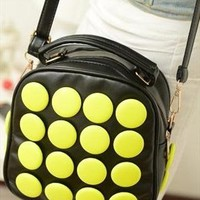 Yellow dot bag  from shoplayla