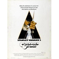 A Clockwork Orange Movie White 11 inch x 17 inch poster