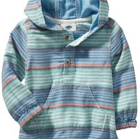 Old Navy Striped Lightweight Hoodies For Baby