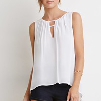 Ladder-Cutout Top