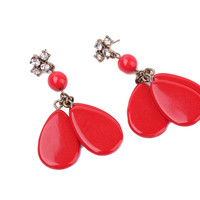 Cherry Triplets Dangle Earrings
