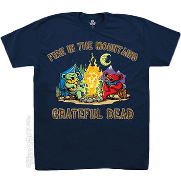 Grateful Dead - Fire in the Mountain T Shirt on Sale for $18.95 at HippieShop.com
