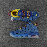 "Nike Air More Uptempo ""BPM"" Blue Suede Size 40----47"