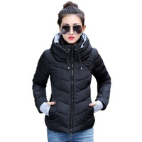 2016 Winter Jacket Women Parka Thick Winter Outerwear Plus Size Down Coat Short Slim Design Cotton-padded Jackets And Coats AD [9325864900]