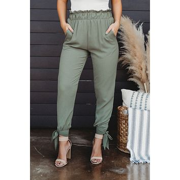 Day To Night Pants (Olive)