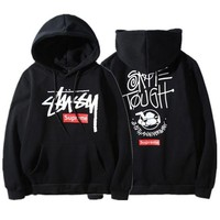 Stussy Hoodies Winter Pullover Couple Hats [103857520652]
