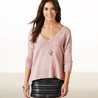 AE Easy V-Neck Sweater | American Eagle Outfitters
