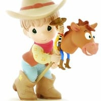 Precious Moments Disney Rounding Up A Gang Full Of Fun Figurine
