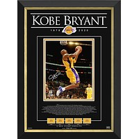 KOBE BRYANT - TRIBUTE TO AN NBA LEGEND LTD ED 124 OF 124 FACSIMILE SIGNED