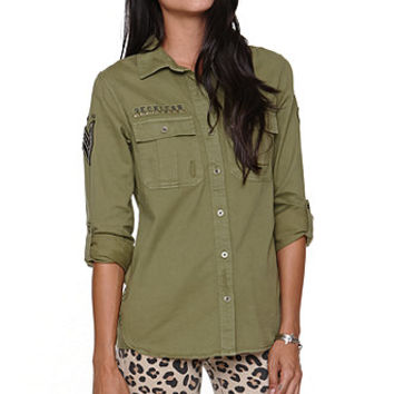 Young and Reckless Military Shirt at PacSun.com