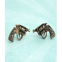 Pistol Stud Earrings
