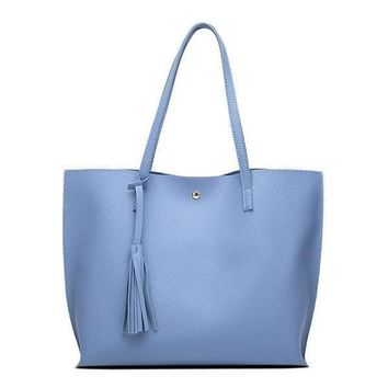 Tote Bag With Tassel